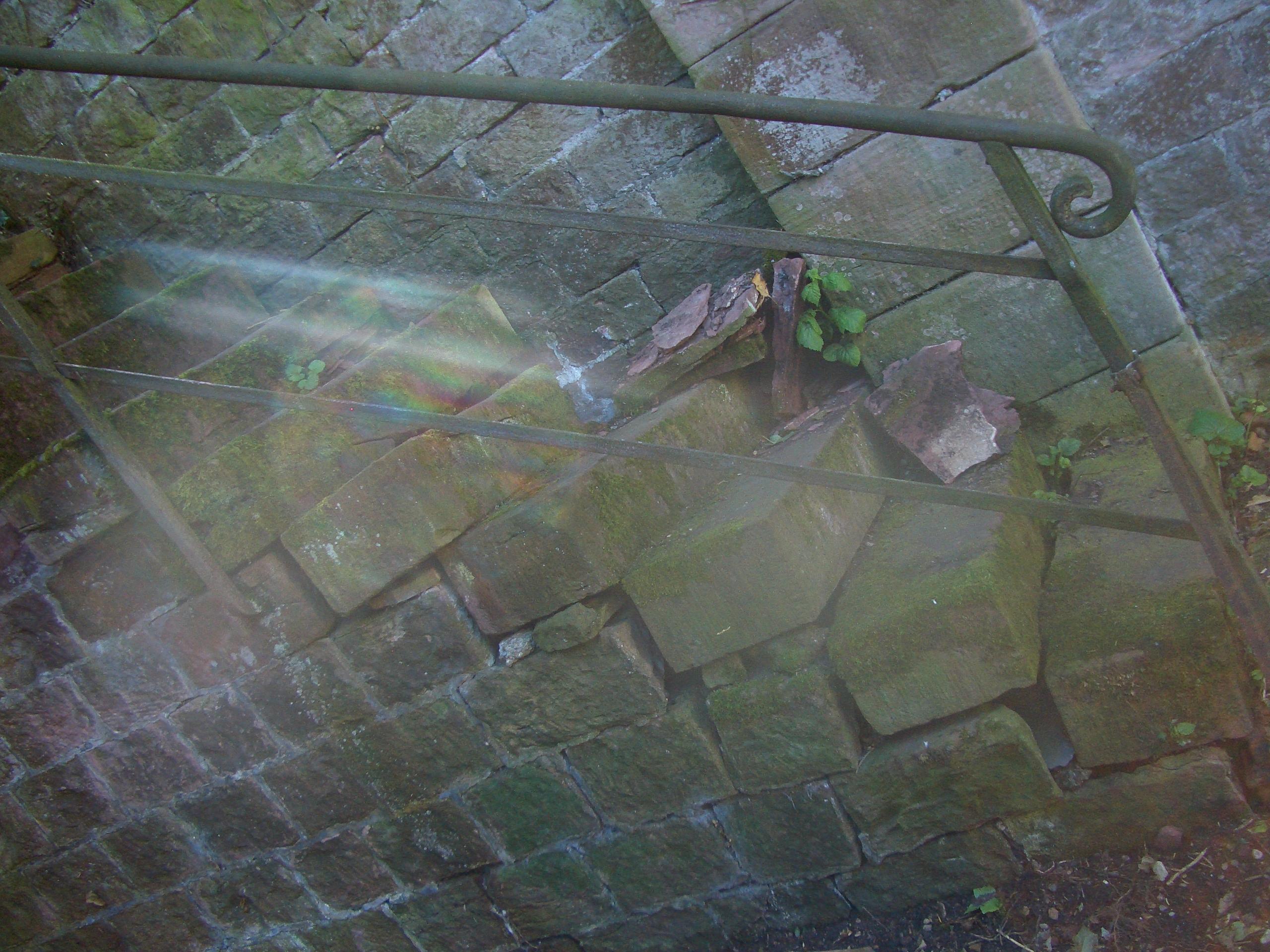 Treppengeländer Reinigung Baudenkmal Heidelberg
