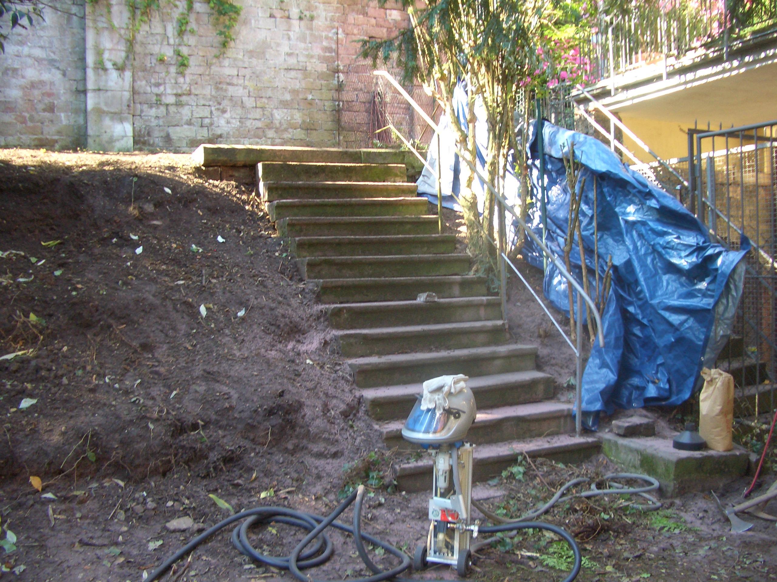 Treppengeländer Reinigung – Vorher Nachher (2)