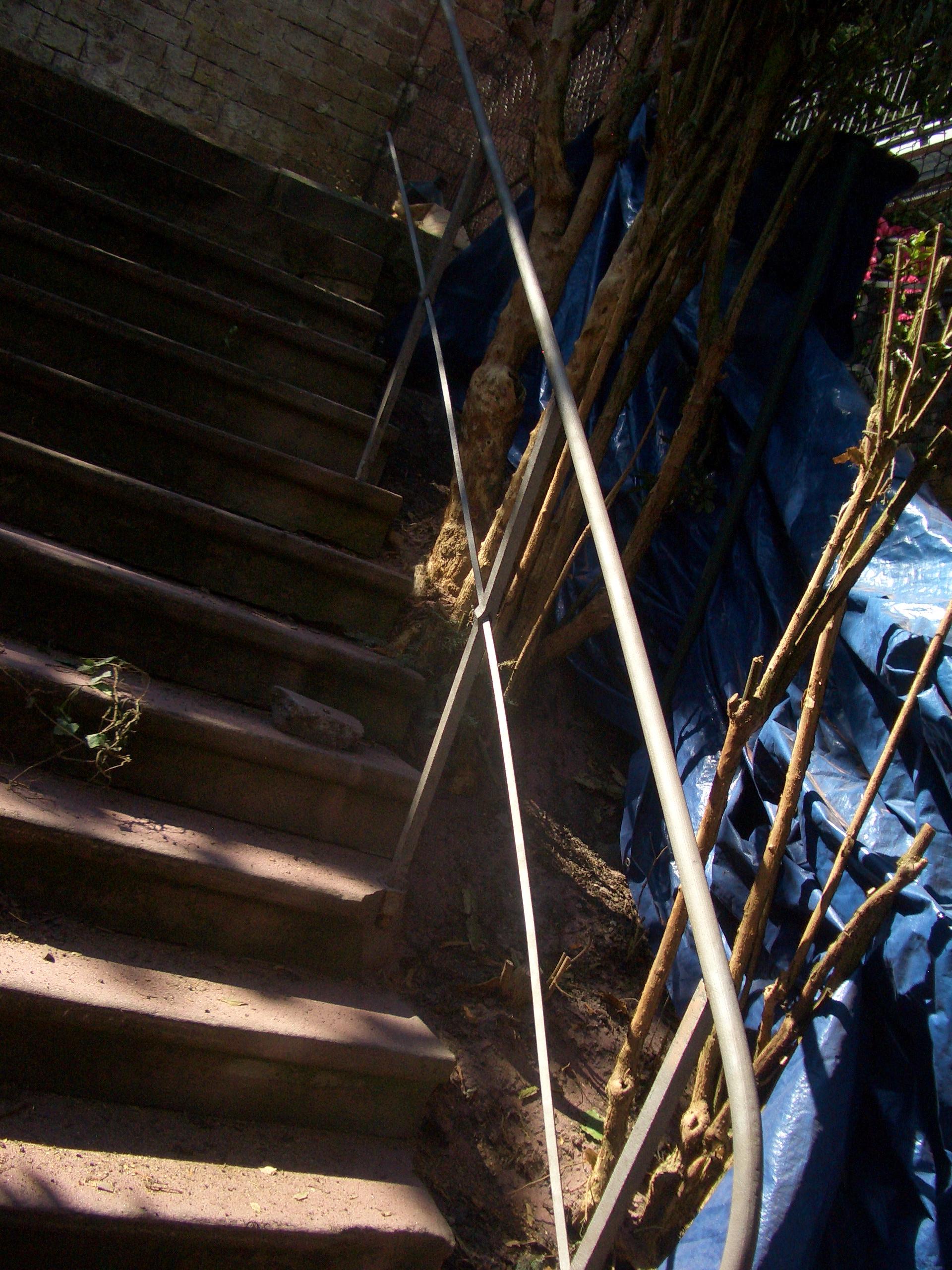 Treppengeländer Reinigung –
