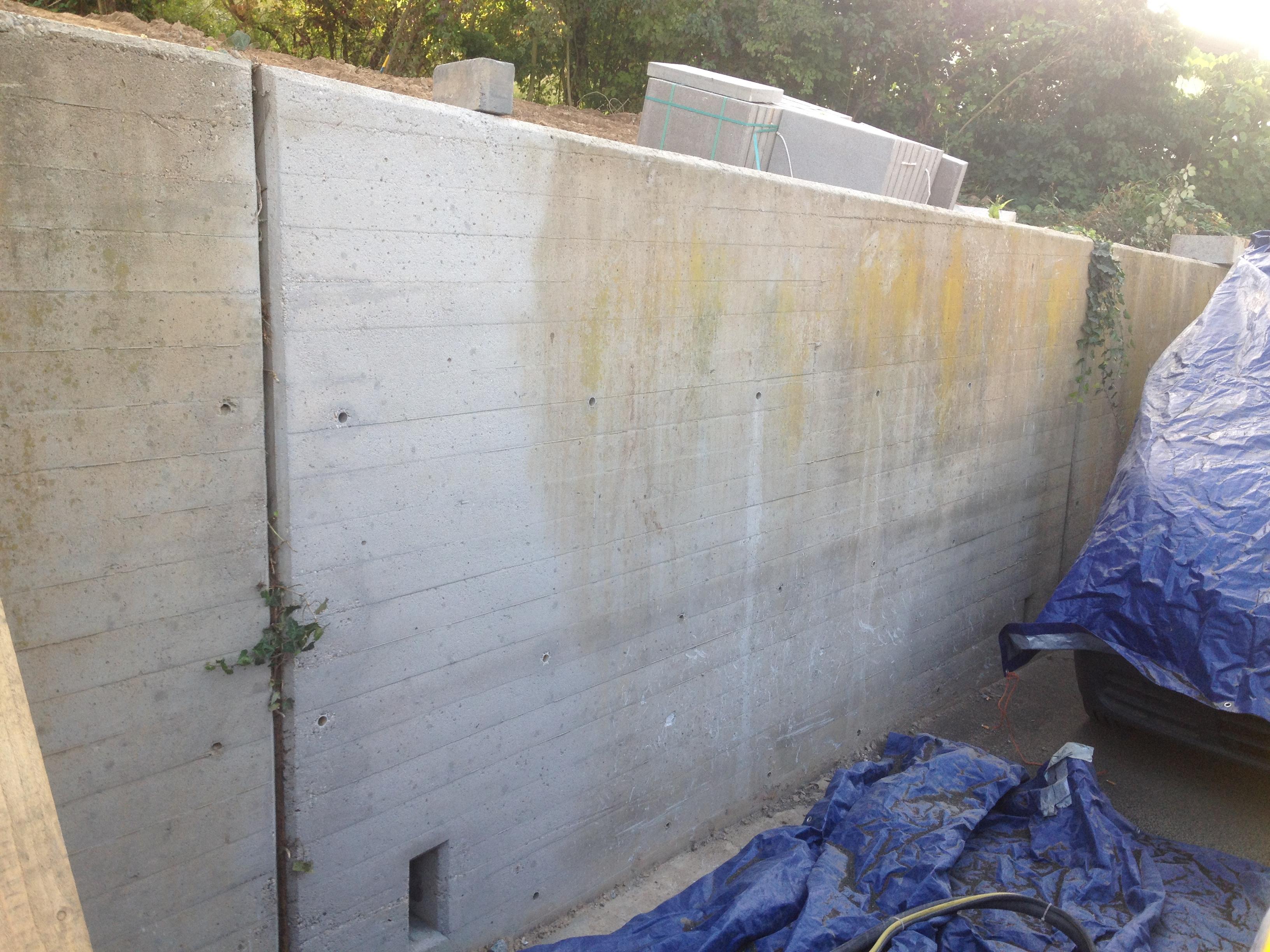 reinigung von betonmauern und betonfl chen in heidelberg. Black Bedroom Furniture Sets. Home Design Ideas