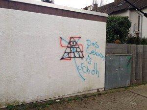 graffiti entfernung in frankfurt und im raum offenbach. Black Bedroom Furniture Sets. Home Design Ideas
