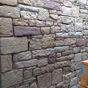 Sandsteinmauer reinigen Mannheim
