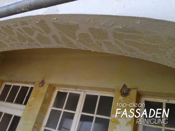 Lackentfernung Farbentfernung Fassade