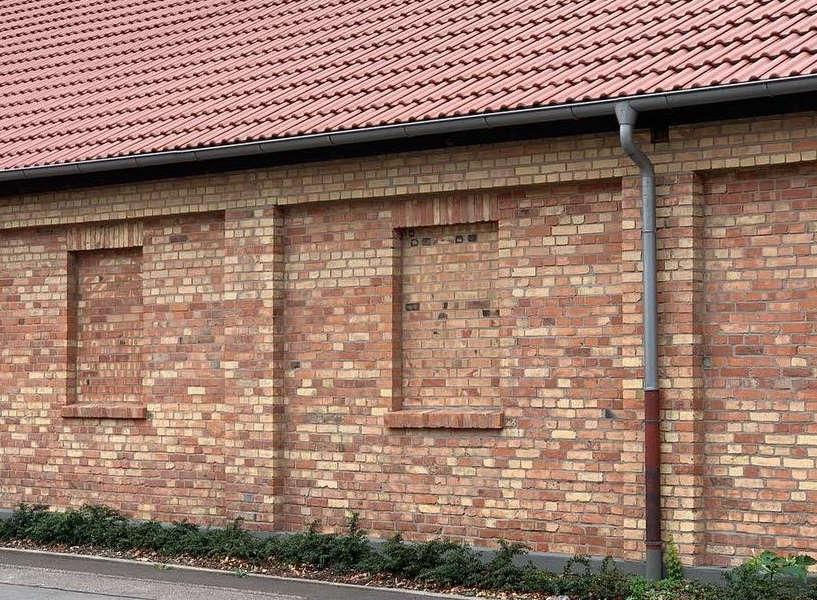Klinkerfassade Backstein nach der Fassadenreinigung